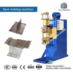 Galvanized Steel Sheet Pnuematic Spot Weld/Cold Roll Sheet Welder pictures & photos
