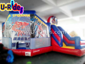 Commercial grade super boys inflatable bouncer moonwalk bouncy house for kids pictures & photos