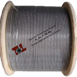 Stainless Steel Wire Rope 316 7X19 8mm pictures & photos