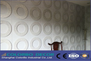 Home Decoration Polyester Fiber Board pictures & photos