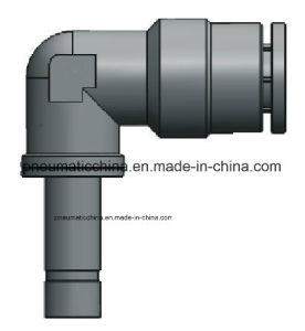 Good Quality Pneumatic Fittings Metal Push in Fitting pictures & photos