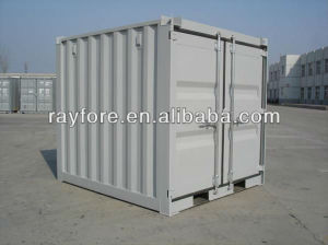 Manufacture Mini Container Set with Steel Door 10 Foot pictures & photos