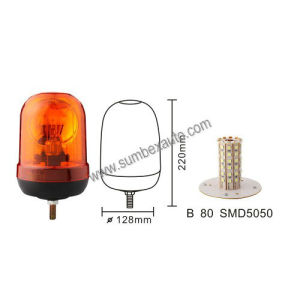 ECE R10 Single Bolt Mount Strobe Warning Beacon (SM803EB)
