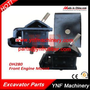 Excavator Parts Daewoo Doosan Dh280 Front Rubber Engine Mount pictures & photos