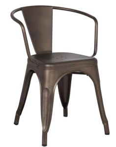 Industrial Side Chair Vintage Metal Dining Chair pictures & photos