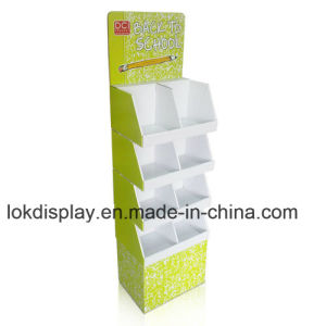 Hard Duty Cardboard Point of Sales Display Floor POS Display, Pop Display Stands pictures & photos