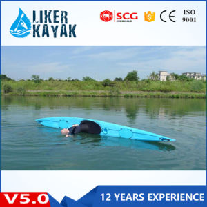 5.0m 1 Person Sit in Professional Ocean Racing Kajak Single pictures & photos