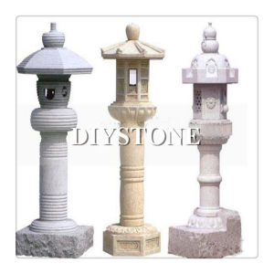 Garden Sculpture Stone Lantern Granite Sculpture pictures & photos