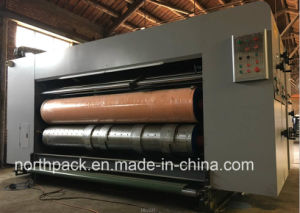 Automatic Lead-edge feeding corrugated cardboard flexo printing slotting die-cutting machine pictures & photos