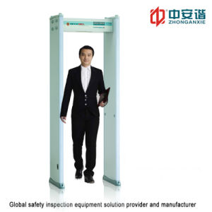 LED Display Screen 200 Level Walk Through Metal Detector with 3D Infrared Design for Prisons Inspection pictures & photos