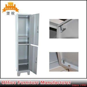 2 Door Steel Bathroom Gym Swimming Storage Metal Locker pictures & photos
