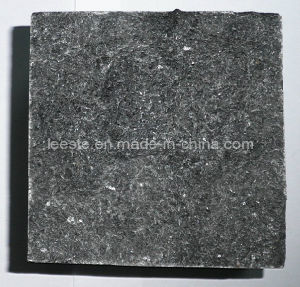 Hainan G684 Black Pearl Paving Lava Stone Granite Wall Tile pictures & photos