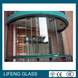 Bent Tempered Laminated Glass for Curtain Wall with ISO, Ce