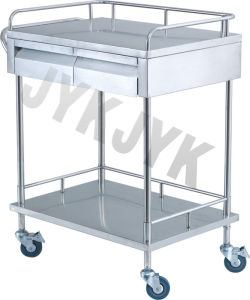 S. S. Medical Treatment Trolley with One Drawer pictures & photos