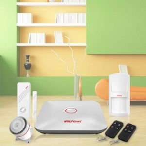 2016 New WiFi Home Burglar Security Alarm System Intelligent Alarm Android Ios APP Control Voice Prompt Alarm Kit pictures & photos