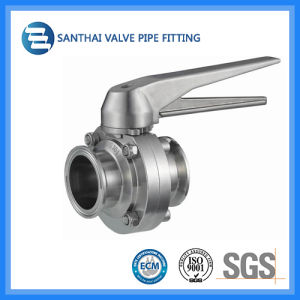 Stainless Steel 304/316 Pulling Hanlde Sanitary Valve pictures & photos