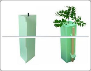 Recyclable 2mm 2.5mm Corflute Vine Guard / Tree Guard pictures & photos