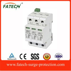 China 3 poles Solar Voltage SPD Surge Protector pictures & photos