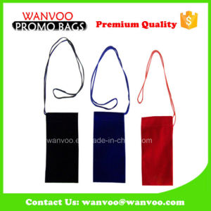 Promotional Small Velvet Drawstring Jewelry Pouch for Cell Phone pictures & photos