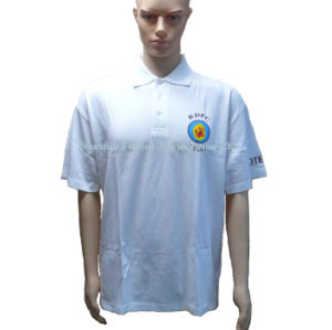 Promotional Polo Shirt with Sublimation Print Logo pictures & photos
