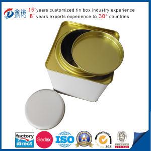 Metal Tea Box Square Airtight Lid Tea Tin pictures & photos