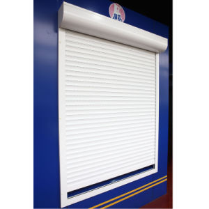 CE Approved Rolling Shutter Window (45mm slats) pictures & photos