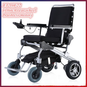 Golden Motor 8′′, 10′′, 12′′ E-Throne Best Folding Electric Power Disabled Scooter with LiFePO4 Battery pictures & photos