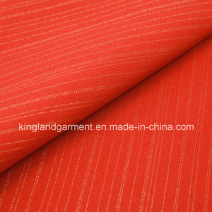 Polyester Wide Width Red Inherently Fire/Flame Retardant Fireproof Blackout Fabric pictures & photos
