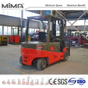 2000kgs Electric Forklift Factory Price pictures & photos