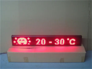 P7.62 LED Screen with DOT Matrix Encapsulation pictures & photos