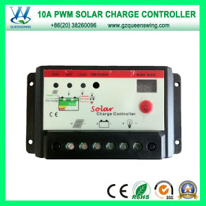12V/24V 10A PWM Solar Charger Controller (QWP-1410T-34) pictures & photos