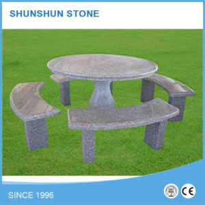 Various Garden Stone Tables and Chairs Granite pictures & photos
