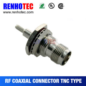 RF Waterproof TNC Female Connector Crimp Cable Rg58/59/RG6 pictures & photos