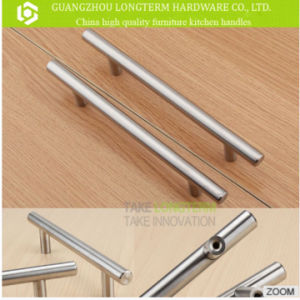 Hollow or Solid Stainless Steel T Bar Drawer Cabinet Handle pictures & photos