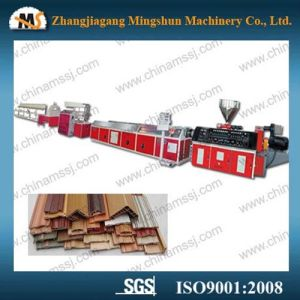 Wood Plastic Composite Profile Production Line with Good Price