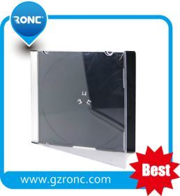 Wholesale 10.4mm Balck Single/Double CD Jewel Case pictures & photos