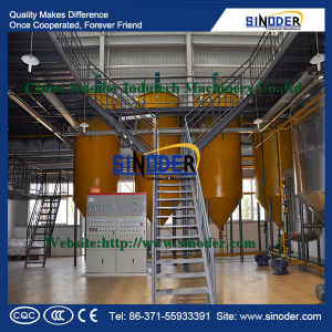 Soybean Crude Oil Plant/ Soybean Oil Refining Machine pictures & photos