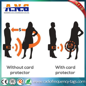Anti-Theft Wallet Credit Card Protector RFID Blocking Sleeve Cards pictures & photos