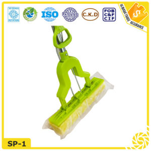 Stainless Steel Handle PVA Sponge Mop pictures & photos