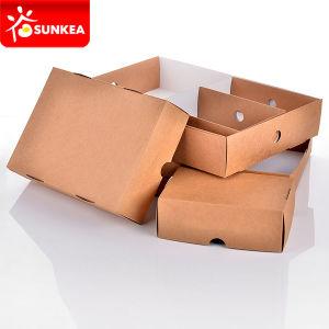 Takeaway Food Grade Kraft Large Paper Box Platter pictures & photos