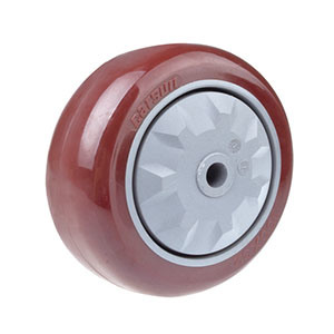 100mm Medium Duty Industrial PU Castor Wheel pictures & photos