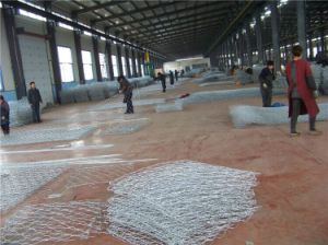 Gabion Mesh / Hexagonal Wire Netting/ Galvanized Gabion Box Yaqi Factory Supply pictures & photos