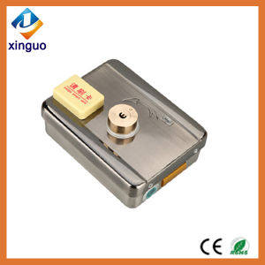 Intelligent Electric Lock with Swiping Card for Doors pictures & photos