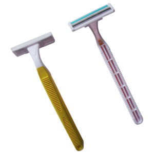 Twin Blade Disposable Razor (KD-52007L for Man) pictures & photos