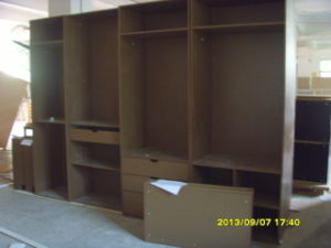 Maple Solid Wood Island Base Cabinets pictures & photos