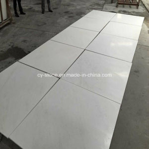China Home Decorative Snow White Marble Tile for Wall and Flooring pictures & photos