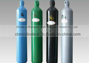 OEM O2 Gas Cylinders 40L (6m3) for Gas Plants pictures & photos