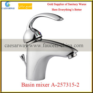 Chrome Plated Single Lever Water Kitchen Sink Faucet pictures & photos