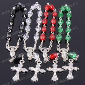 Factory Direct Many Colours Ellipse Crystal Bracelet
