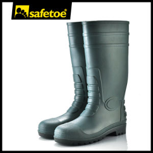 Farm Safety Rain Boots, Industrial Rain Boots, Mining Rain Bootsw-6038 pictures & photos